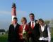 4- Leuchtturm Hochzeiten Pellworm - Hochzeitspaar Krämer aus Köln  (2007)