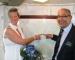 Hochzeitspaar Silvia und Helmut Kuske