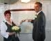 Hochzeitspaar Yvonne Oertel Fischer und Bernd Fischer - 2011